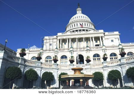 The Capitol in Washington DC is the building where the United States Congress meets