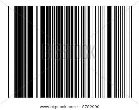 Bar code imitation