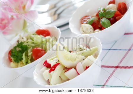 Kleine Salate
