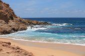 picture of cortez  - Beautiful Playa Santa Maria bay to snorkel in - JPG