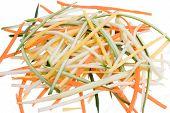 Raw Vegetable Spaghetti poster