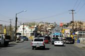 CIUDAD JUAREZ - FEB 28: Streets in Ciudad Juarez are the scene of the most violent drug cartel turf