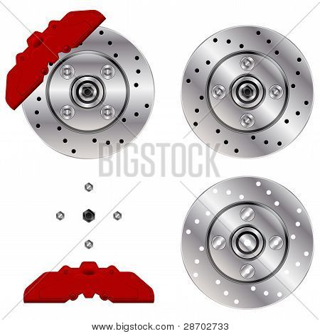 Car Brake Disk System