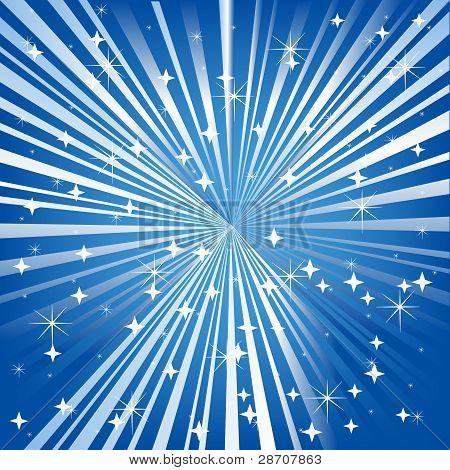 Blue Festive Background