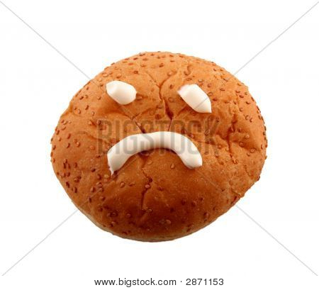 Bun With Sad Face