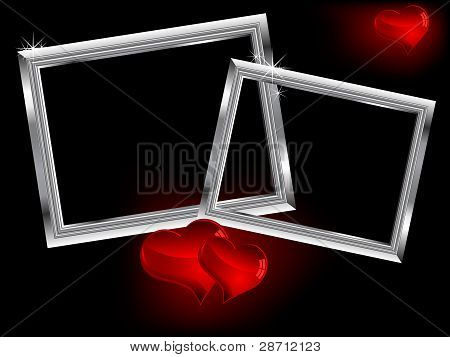 Two Silver Frames