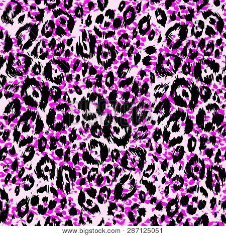 Abstract Textured Pattern Bright Animal