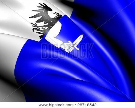 Flag Of Connacht Province, Ireland.