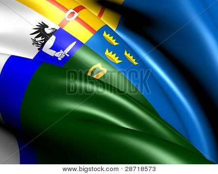 Four Provinces Flag, Ireland.