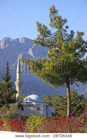 Mosque In Kemer, Turkey