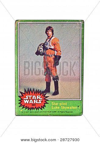 Star Wars Trading Card Luke Skywalker
