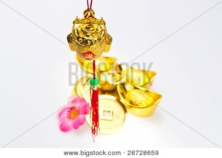 Gong Xi Fa Chai - Hanging Wealth Pot Ii