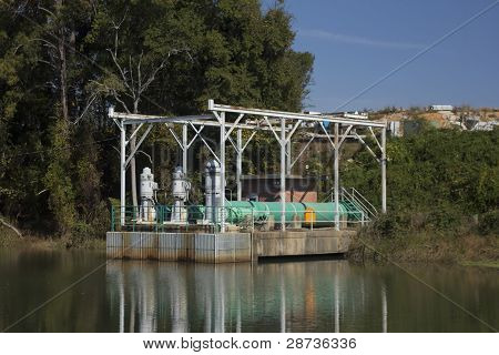 utility pumping station