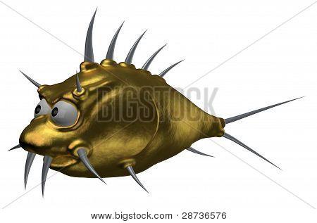 Prickles Goldfish