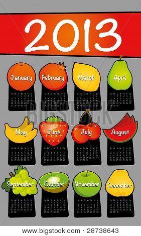 Calendar Design 2013 Set 2