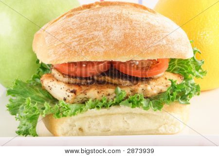 Grilled To Perfection Chicken Sandwich