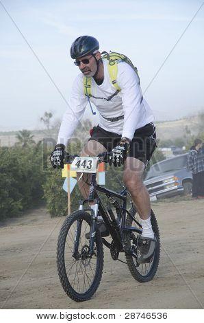 Biathlon Contestant