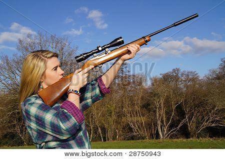 Girl Shooting Game