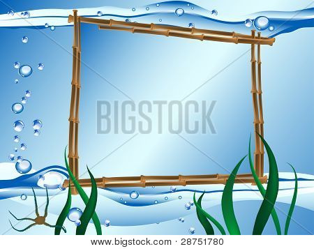 Vector Water Frame