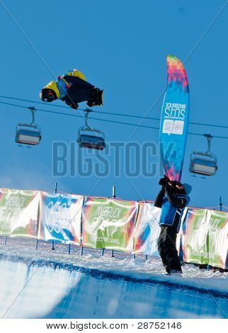 Taku Hiraoka, Snowboard Halfpipe, Youth Olympic Games 2012
