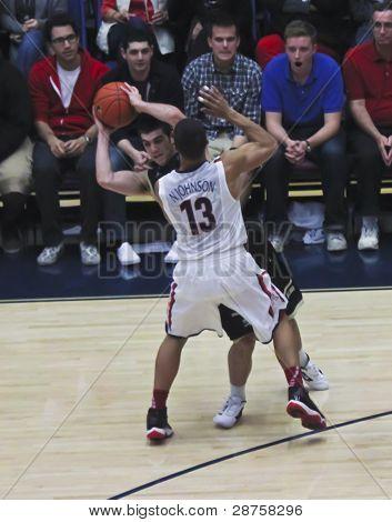 A Defense By Arizona Wildcat Nick Johnson
