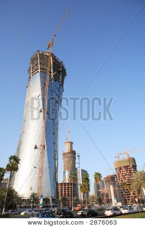Bidda Tower Under Construction