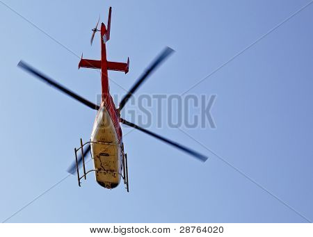 Chopper Helicopter Heading Noth Southe East West