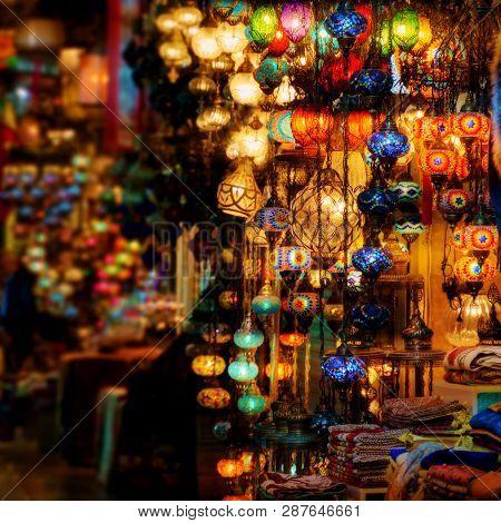 Turkish Lanterns At Grand Bazaar