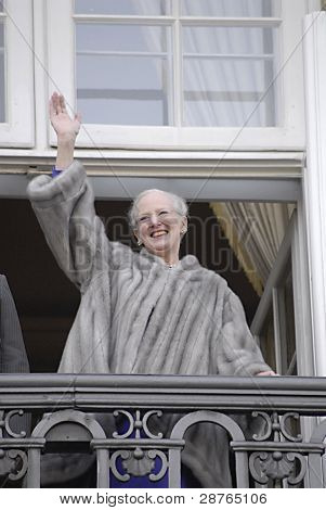 Denmark_queen Margrethe 40 Year Jubilee On Thorne