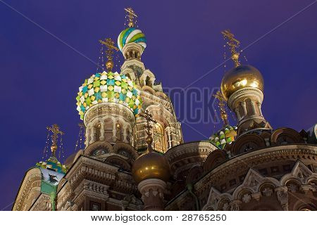 Temple Of The Resurrection Of Christ, St. Petersburg