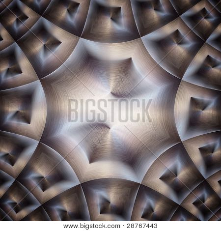 Shiny Metal Surface ;  Abstract Industrial Background
