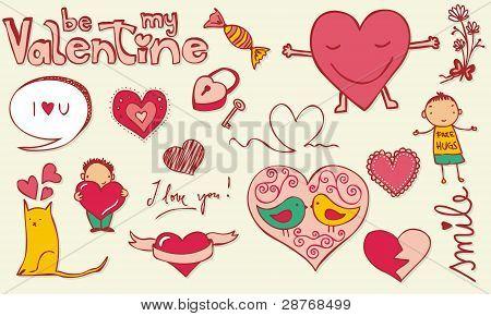 Doodle de amor