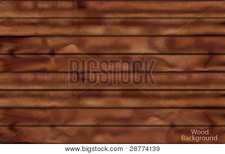 Dark wood planks