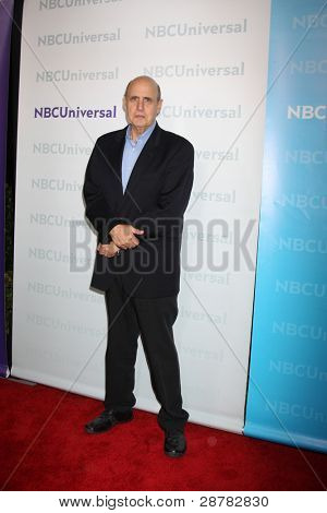 LOS ANGELES - JAN 6:  Jeffrey Tambor arrives at the NBC Universal All-Star Winter TCA Party at The Athenauem on January 6, 2012 in Pasadena, CA