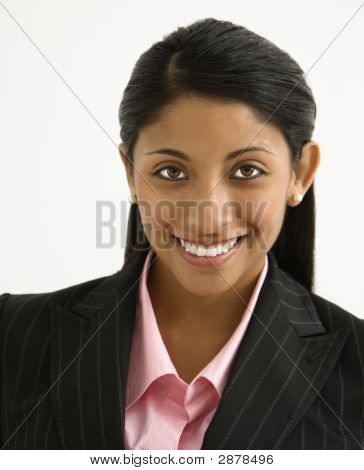 Smiling Businesswoman.