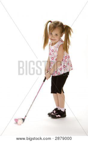 Niña de Golf