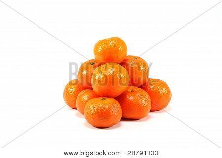 Oranges tetrahedron