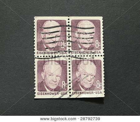 Dwight Eisenhower On Stamps