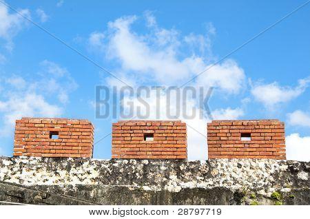 The ancient city walls