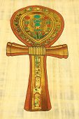 stock photo of ankh  - The key of the Nile Ankh egypt - JPG