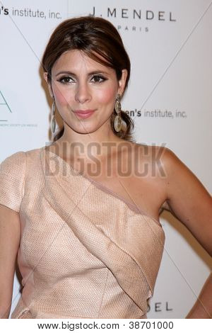 LOS ANGELES - OCT 17:  Jamie-Lynn Sigler arrives at  3rd Annual Autumn Party with designer J Mendel at The London West Hollywood on October 17, 2012 in West Hollywood, CA