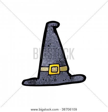 chapéu pontudo de desenhos animados
