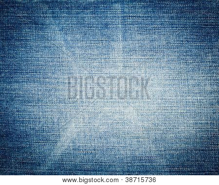 Blue jeans textura fondo close-up