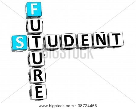 3D Student Future Crossword