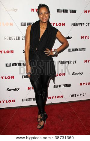 LOS ANGELES - OCT 15:  Daphne Wayans arrives at  Nylon's October IT Issue party at London West Hollywood on October 15, 2012 in Los Angeles, CA