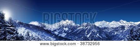 Mountain -  Winter Landscape