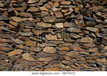 Dry Rock Wall
