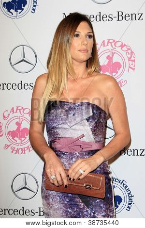 LOS ANGELES - OCT 20:  Daisy Fuentes arrives at  the 26th Carousel Of Hope Ball at Beverly Hilton Hotel on October 20, 2012 in Beverly Hills, CA