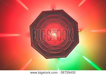 moderno diodo emissor de luz de cor interior