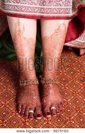 Bride\'S Feet
